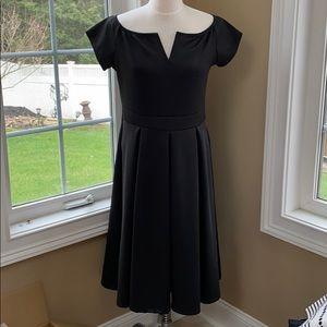NWT Lalagen classic black midi dress Plus size XL